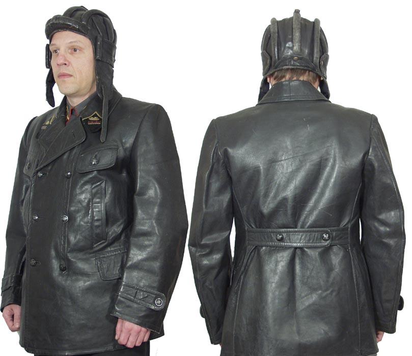 Отечественная кожаная куртка